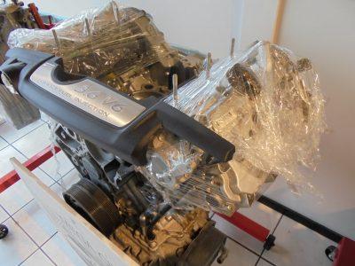 Porsche Panamera V6 motor