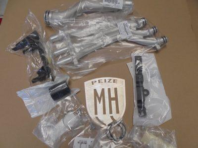 Porsche Cayenne V8 koelwater modificatie-set