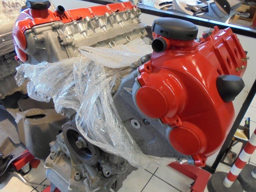 Porsche Cayenne 948 V8 Turbo motor