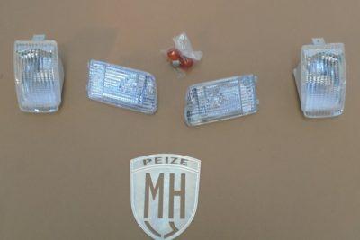 Porsche 964 4 delige witte lampen