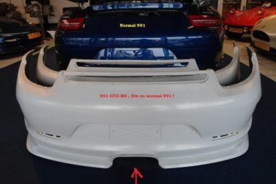 Porsche 991 GT3-RS achterbumper midden-uitlaat