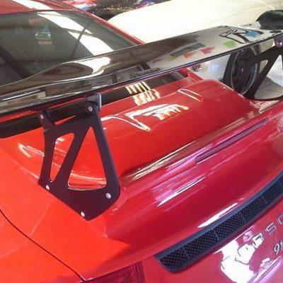 Porsche 991 GT3-RS achterklep met CARBON top-spoiler