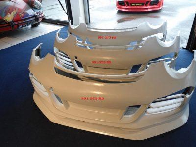 Porsche 991 GT3-RS voorbumpers