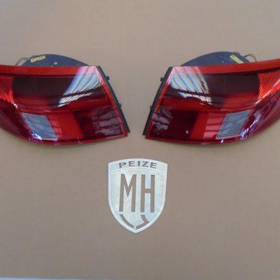 Porsche 996 Achterlichten Rood