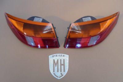Porsche 996 Achterlichten Oranje