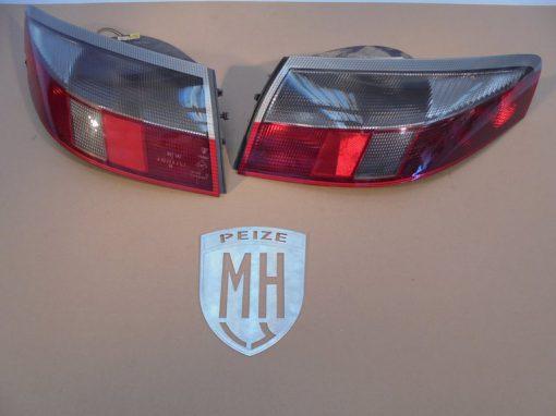 Porsche 996 Achterlichten Rood-Wit