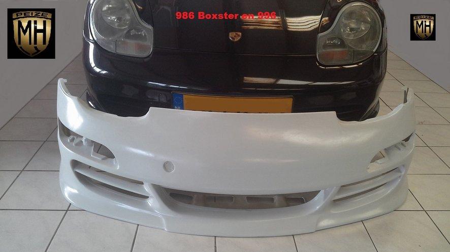 Porsche 996 voorbumper 997-look met lip