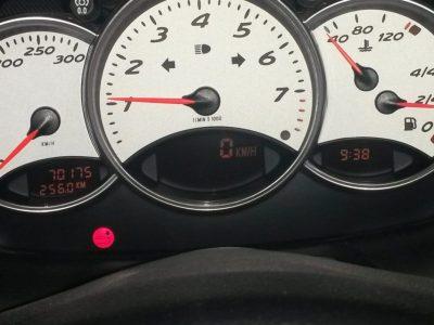 Porsche 996 witte dashboard-plaatjes