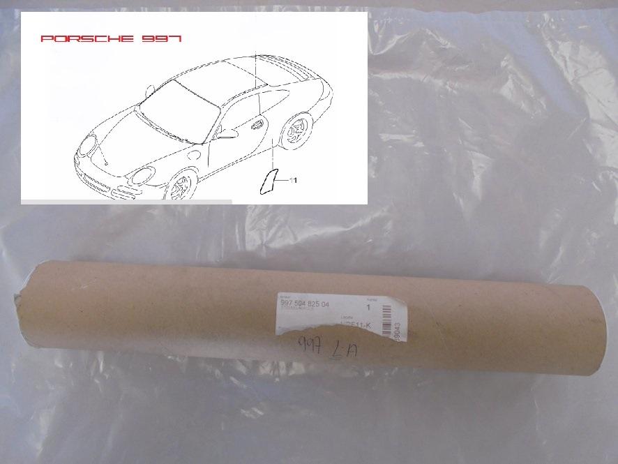 Porsche 997 steenslag stikker