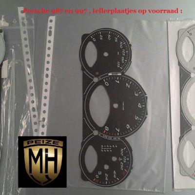 Porsche 997 grijze plaatjes