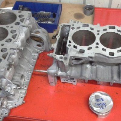 Porsche 997 Turbo DFi motor