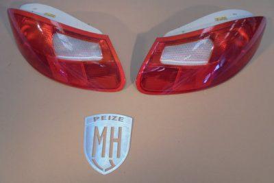 Porsche Boxster 986 Achterlichten Rood