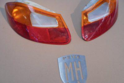 Porsche Boxster 986 Achterlichten Rood-Oranje