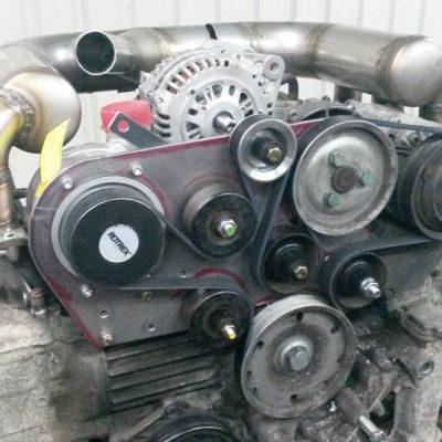 Porsche Boxster ROTREX compressor