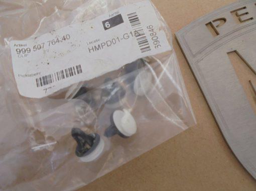 Porsche paneel bevestiging clips