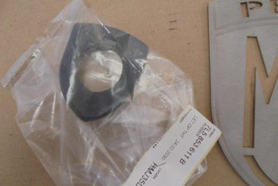 Porsche Embleem onderleg rubber