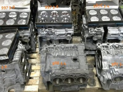 Porsche 987 carter-helften nwe nikkelseal-laag