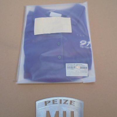 Shirt blauw Porsche 911