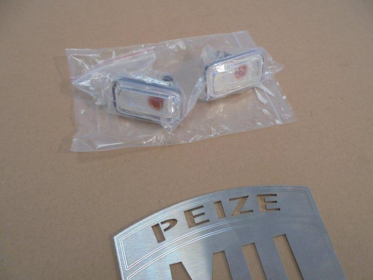 Porsche 911 witte knipperlichten