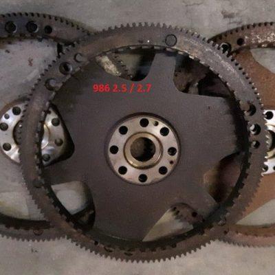 Porsche koppelomvormer-schijf