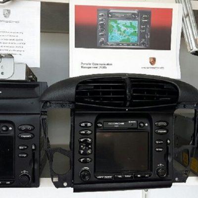 Porsche 996 PCM scherm