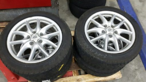 Porsche Cayenne 19inch velgen
