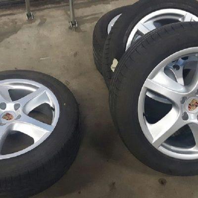 Porsche Cayenne velgen