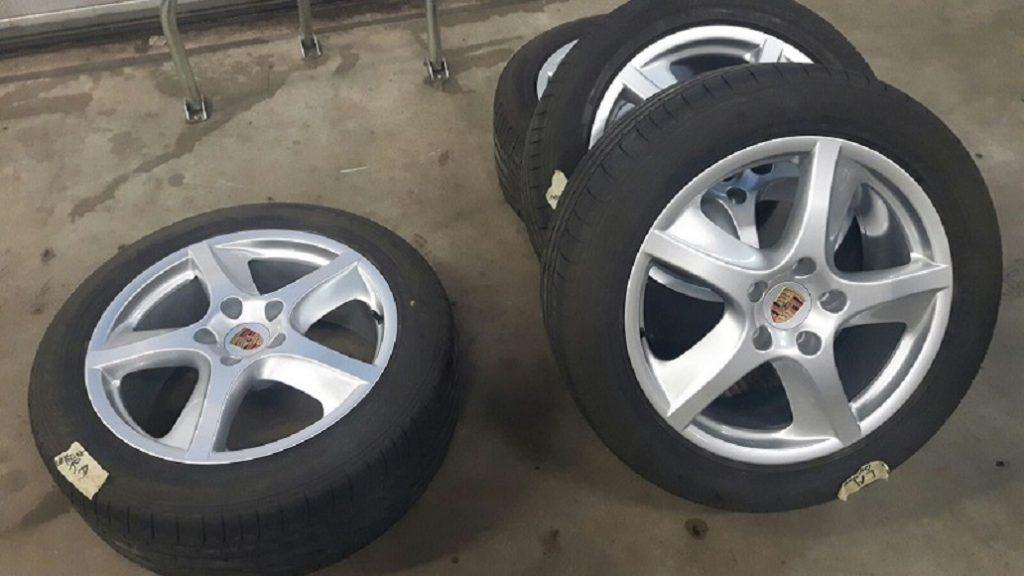 Verwonderend Porsche Cayenne velgen - Webshop MH Automobielen Peize Porsche OK-75