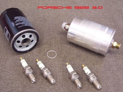 Porsche 968 motor beurt set