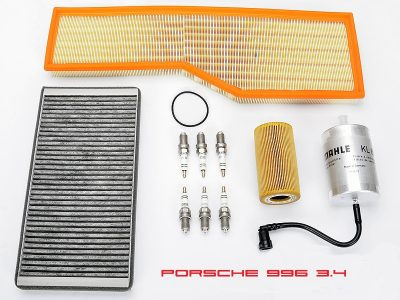 Porsche 996 motor beurt set