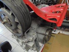 Porsche 911 3.3 Carrera motor met compressor