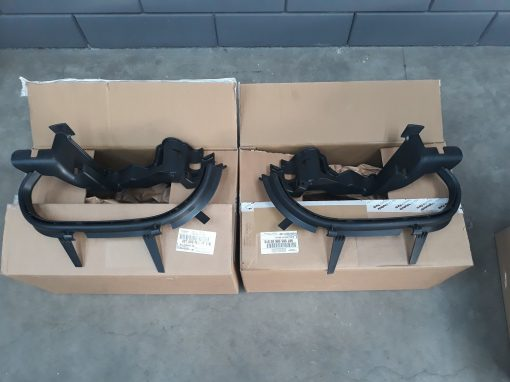Porsche Boxster 987 type2 bumper-roosters