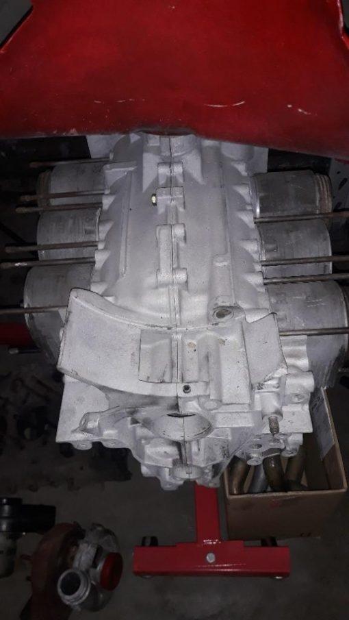 Porsche 930 3.3 TURBO carters cilinders zuigers