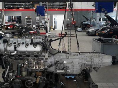 Porsche Cayenne motor v8 type 4.5