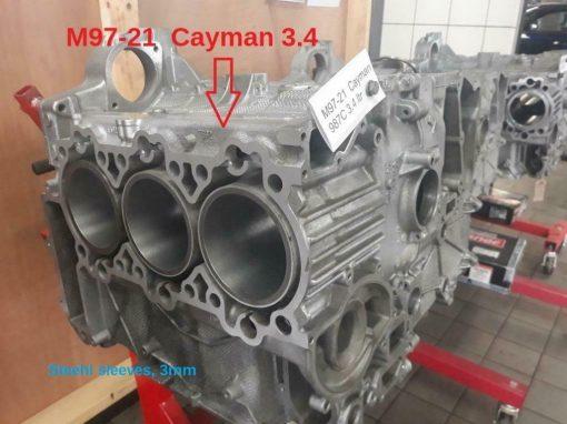 Porsche 987S Cilinder herstel