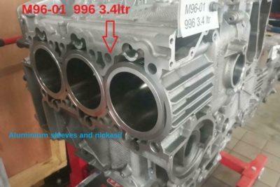 Porsche 996 Cilinder herstel