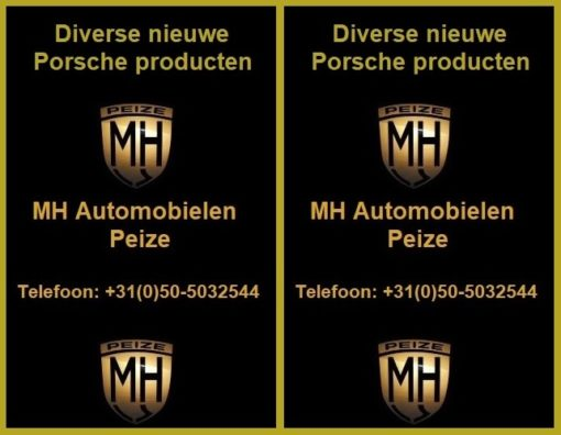 Diverse Porsche producten deel 1
