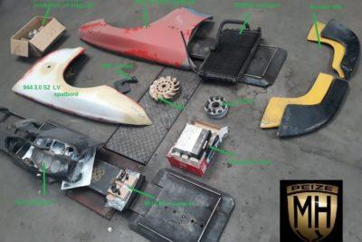 Porsche onderdelen gebruikt