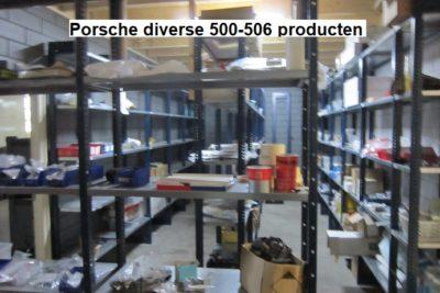 Porsche diverse 500-506 producten