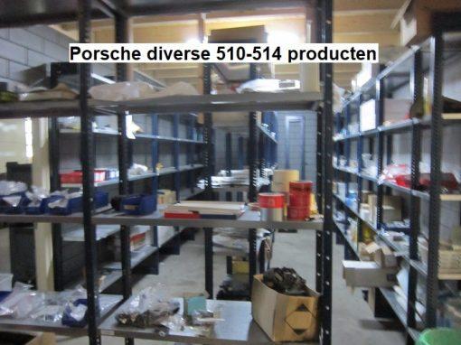 Porsche diverse 510-514 producten
