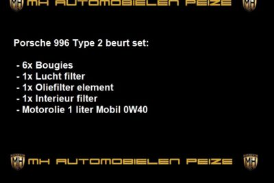 996 Porsche type 2 beurt set