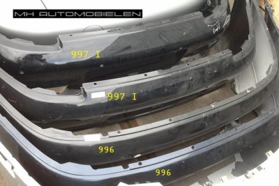 Porsche 996 achterbumper
