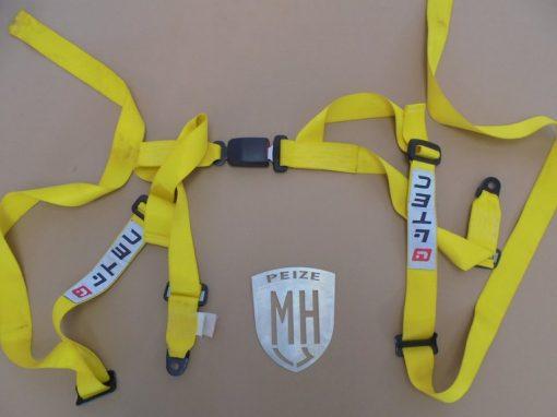 Porsche 911 Veiligheidsgordel geel
