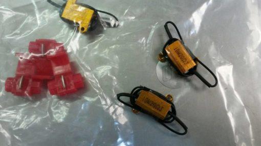 Losse weerstandjes voor LED-lampen