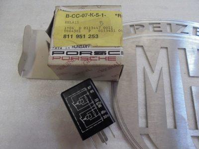 Porsche 964 993 koelfan-relais