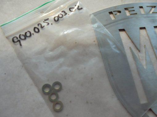 Porsche onderleg-ringen