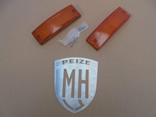 Porsche 911 Knipperlicht Geel