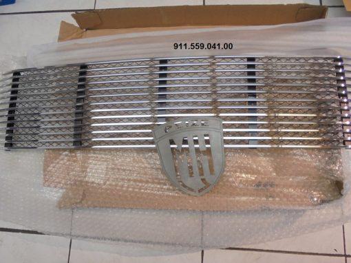 Porsche 911 chrome grill