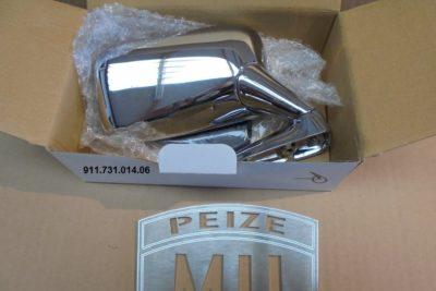 Porsche 911 chrome spiegel rechts