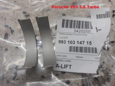 Porsche 993 Turbo drijfstanglagers